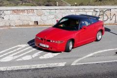 Prueba Alfa Romeo SZ Zagato 1991