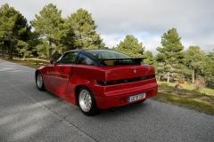 El color rojo original vuelve a lucir en esta preciosa carrocería.