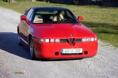 El Alfa Romeo SZ es una pieza muy exclusiva.