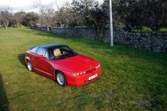 El Alfa Romeo SZ montaba la mecánica del 75 América.