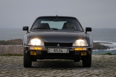 El CX GTi de la imagen cuenta con los parachoques cromados de las primeras series.