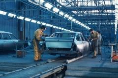 Línea de producción del CX.