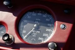 La velocidad máxima del XK 140 superaba los 200 km/h