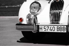 Los cromados no son exagerados en el Jaguar XK.