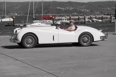 Jaguar ya tenía un buen palmarés en competición en 1955.