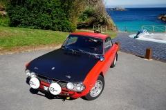 El capó negro mate era típico en los rallys de los 60 y 70.