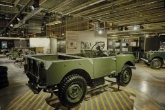 El Land Rover original tomaba como punto de partida un Jeep.