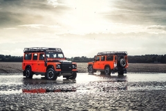 El Land Rover Defender  Adventurer.