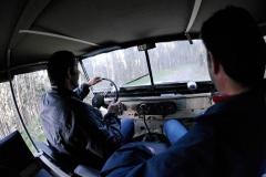 La postura de conducción es incómoda, mejor sin puertas.