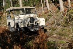 El campo es el lugar ideal para disfrutar del Land Rover.