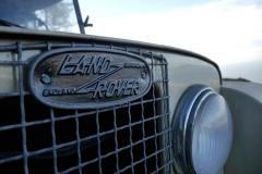 Este Land Rover de 1952 se produjo en la factoría de Birmingham.