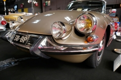 5-This Citroën DS 21 convertible was more exciting than most models showcased at the show