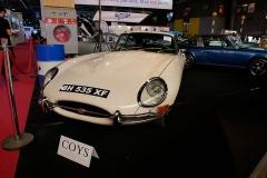 Jaguar E Type en el Salón de París