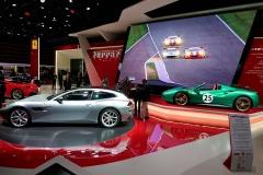 El color de este Ferrari verde es similar al empleado por el Lamborghini Miura