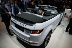 El Range Rover Evoque Cabrio