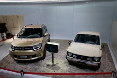 Suzuki Cervo e Ignis juntos