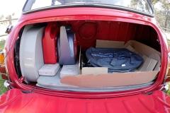 El maletero es amplio para su tamaño.