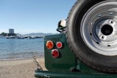 Esta vista recuerda a la de los Land Rover.