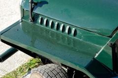 Las branquias laterales mejoran el flujo de aire en la mecánica.