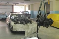 El motor pesa menos que la caja de cambios.