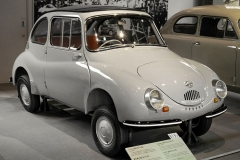El Subaru 360 fue el primer automóvil de la marca.