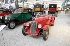 Preciosa carrocería deportiva del Fiat Balilla.