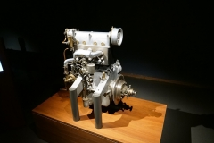 Un motor prototipo de 16 válvulas.