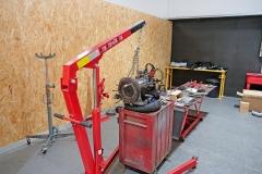 Motor VW en fase de restauración