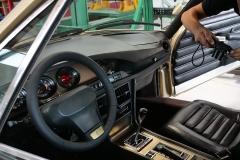 El laboratorio deja registro incluso del interior del coche.