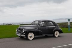 El Peugeot 203 se presentó en París en 1948