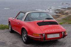 Las formas del 911 son posibles gracias a su motor trasero.