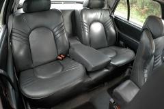 Los asientos traseros son muy confortables.