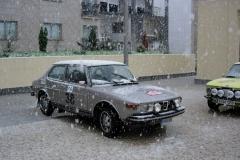El rally se suspendió por la nieve