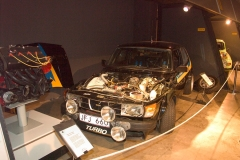 The Saab 99 Turbo was the first supercharged car to win WRC races.