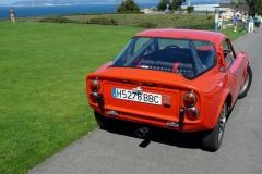 La cola de escape no es original, el modelo original asomaba tras el paso de rueda derecho.