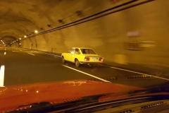 En los túneles de Piedrafita.