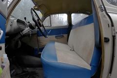 El Seat 1400 es muy cómodo.