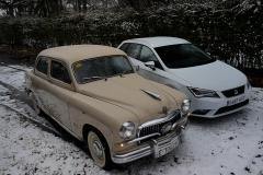 60 años de historia, Seat 1400 B Especial Vs Seat Leon ST 1.4 TSi, Ruben Fidalgo