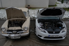 Dos motores de 1.400 cc, de 55 CV a 140 en 60 años.