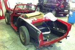 Triumph TR4 IRS de 1966 un clásico a prueba