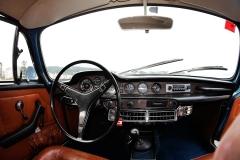 Volvo P1800 ES 1973, interior, Rubén Fidalgo