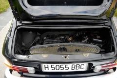 El motor de 4 cilindros refrigerado por aire era muy moderno.