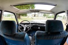 Los asientos delanteros son formidables y muy anchos.
