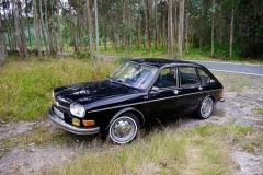El 411 era el VW más grande de la época.