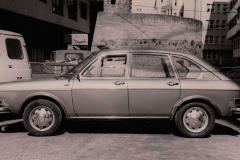 Tras reparar la suspensión y ponerlo a punto en 1982, listo para ser dado de alta en tráfico.