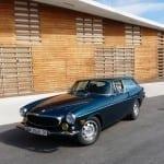 El Volvo P1800 ES es un coche muy bien fabricado.