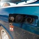 Muy práctico, no hace falta tapón para la gasolina.