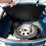 La rueda de repuesto es del mismo tamaño que las otras 4.