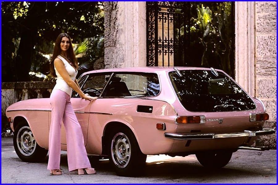 Volvo P1800 ES Marilyn Cole 1973