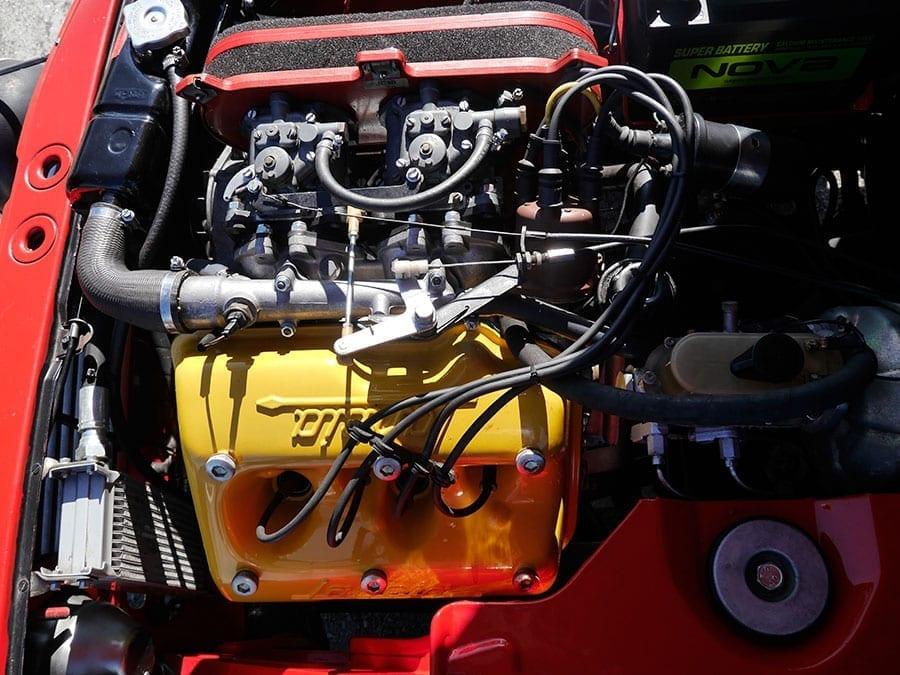 El motor en V estrecha es una joya de la ingeniería.